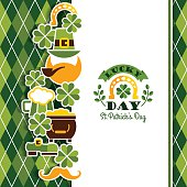 istock Saint Patricks Day baskground. 497104850
