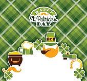 istock Saint Patricks Day baskground. 497104906