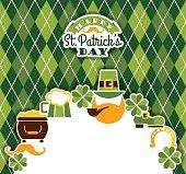 istock Saint Patricks Day baskground. 497104950