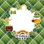 istock Saint Patricks Day baskground. 497105038