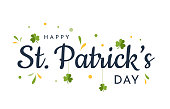 istock Saint Patrick's Day card, background. Vector 1300179372