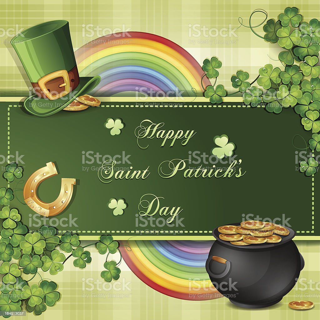 Saint Patrick's Day card royalty-free saint patricks day card stock vector art & more images of backgrounds