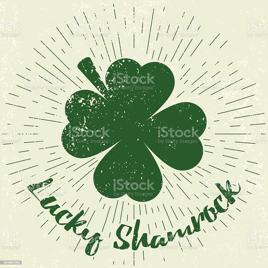 Saint Patricks Day design elements vector art illustration