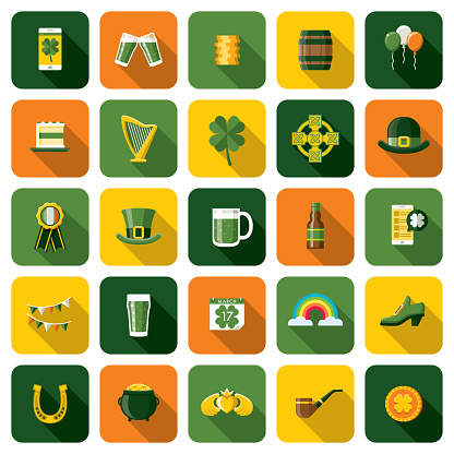 Saint Patrick's Day Icon Set