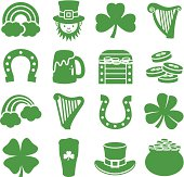 Saint Patricks Day - Icons Set