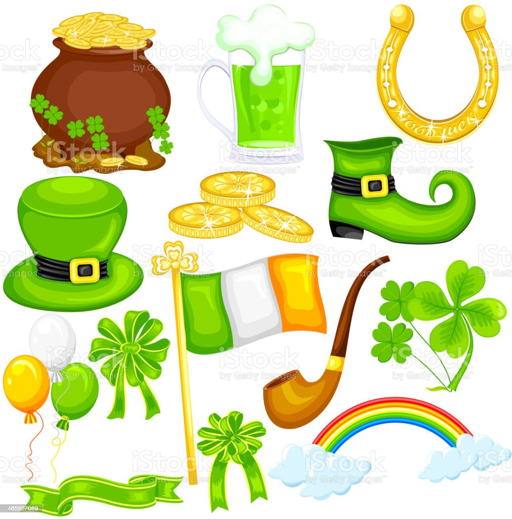 Saint Patrick's Day royalty-free saint patricks day stock vector art & more images of abstract