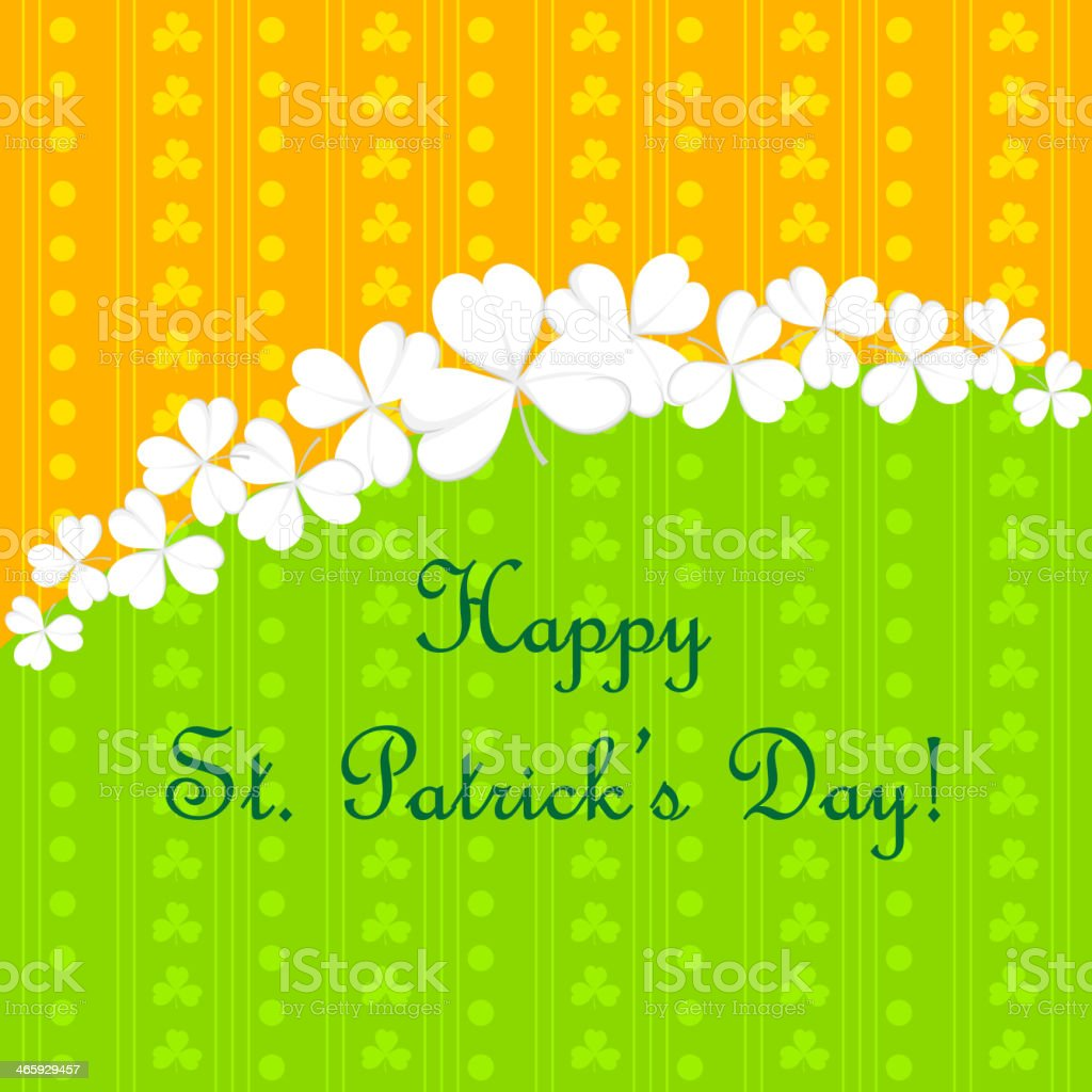 Saint Patrick's Day royalty-free saint patricks day stock vector art & more images of celebration