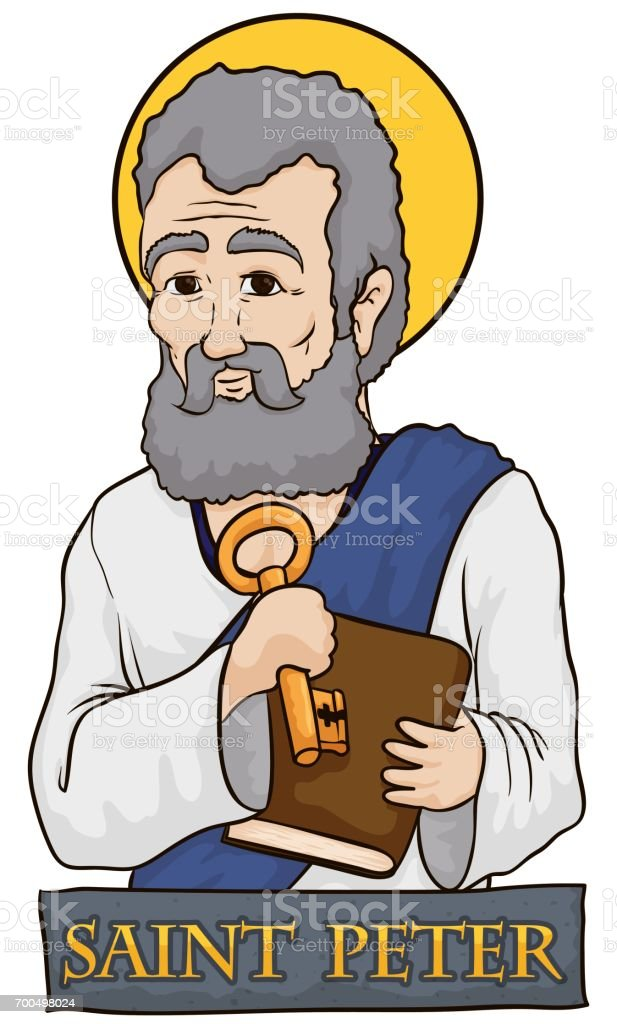 royalty free saint peter clip art vector images illustrations rh istockphoto com santa clipart pictures santa clipart pictures