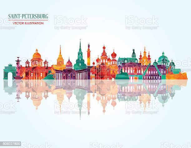 Saint petersburg famous monuments vector illustration vector id509227800?b=1&k=6&m=509227800&s=612x612&h=ngapgdldb4t2gxttelfo570ivtcx2femppkv59dvtcq=