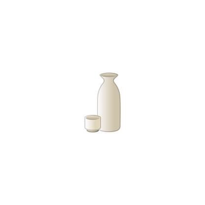 Sake Vector Icon. Japanese Liquor, Saki Wine Bottle Isolated Illustration Symbol