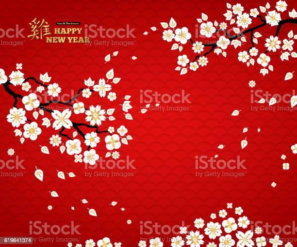 Sakura branches white flowers on red background vector id619641374?b=1&k=6&m=619641374&s=612x612&h=sgpo 7vdpoi omx 77fr5jzlbjz7qeys3rlfieb8ipc=
