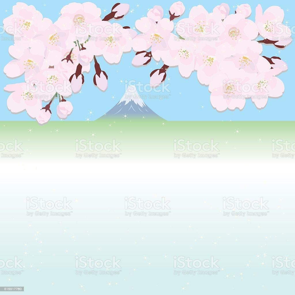 桜の壁紙 イラストレーションのベクターアート素材や画像を多数ご用意 Istock