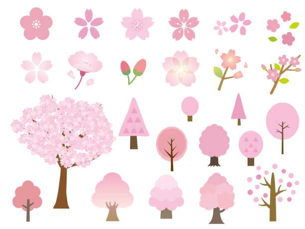 sakura4 - 桜点のイラスト素材/クリップアート素材/マンガ素材/アイコン素材