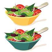istock Salads 165636768