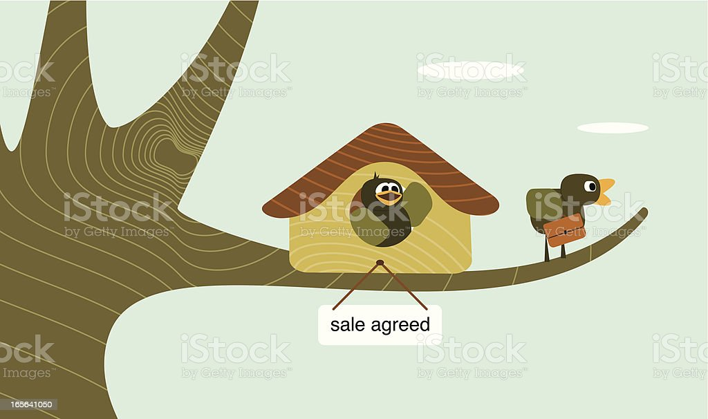 Sale agreed royalty-free stock vector art
