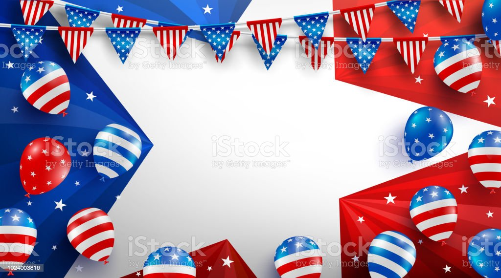sale background poster template for usa labor day celebration with