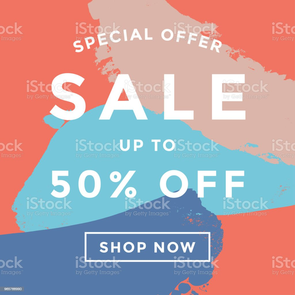 Sale banner design - Royalty-free Abstract stock vector