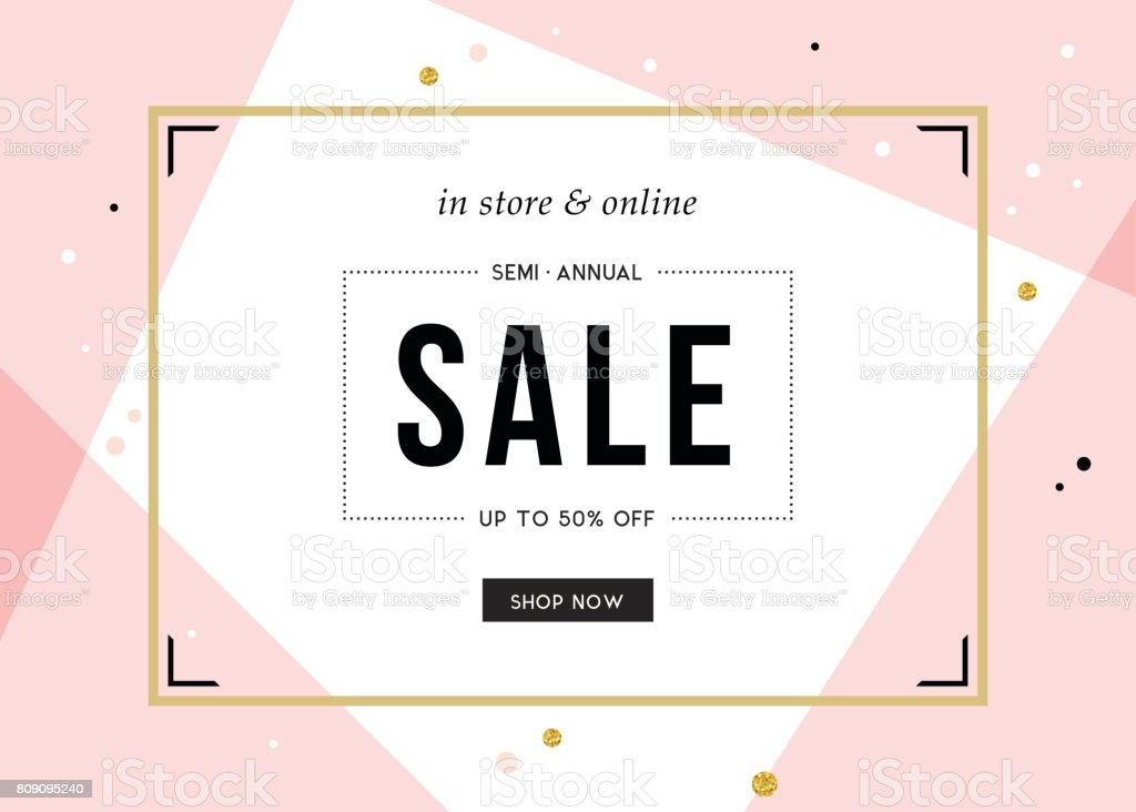 Sale Banner Design_09 vector art illustration