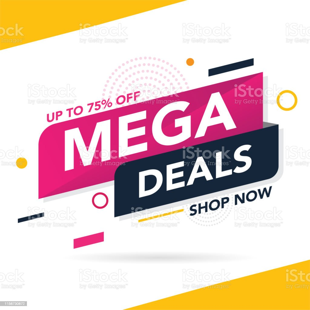 Sale banner template background, Big sale special offer. end of...