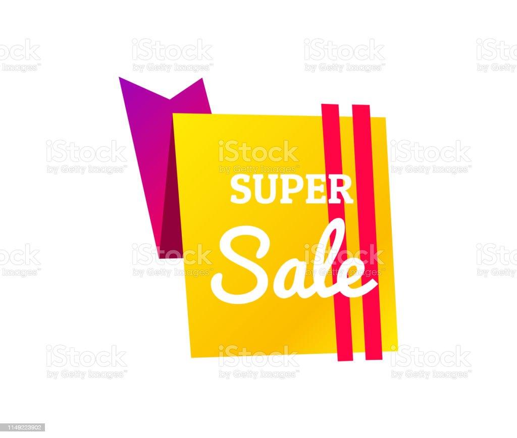 Sale banner template design, Big sale special offer. Hot sale, mega...