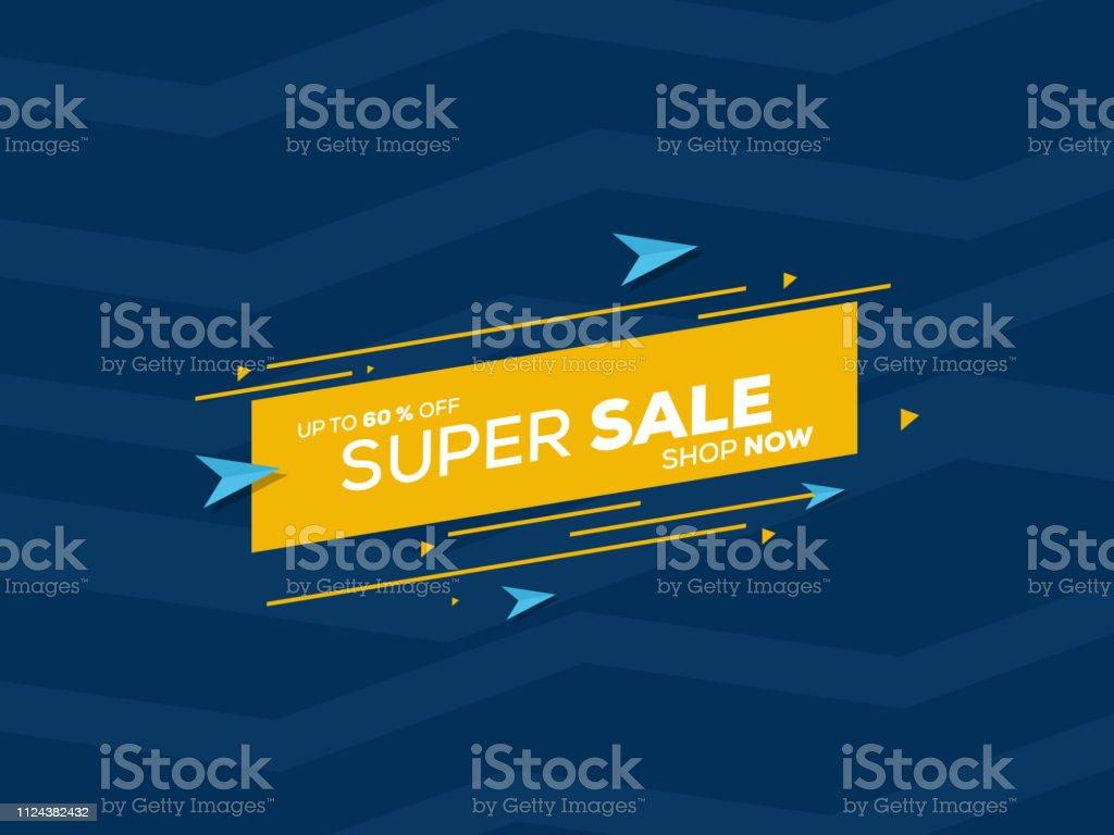 Sale banner template design for big sale special offer design. End of...