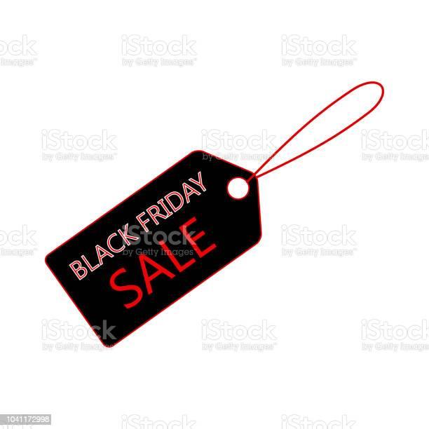 Ilustración de Venta Banner Plantilla Diseño Icono De Etiqueta De Precio Venta Viernes Negro y más Vectores Libres de Derechos de Black Friday