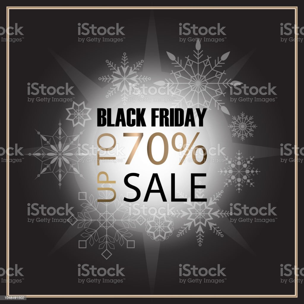 sale banner template design sale poster of black friday big winter sale discount - Discount Christmas Cards