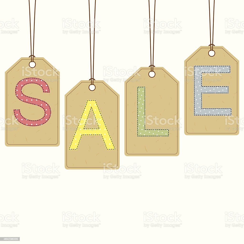 Sale banner royalty-free sale banner stock vector art & more images of art and craft
