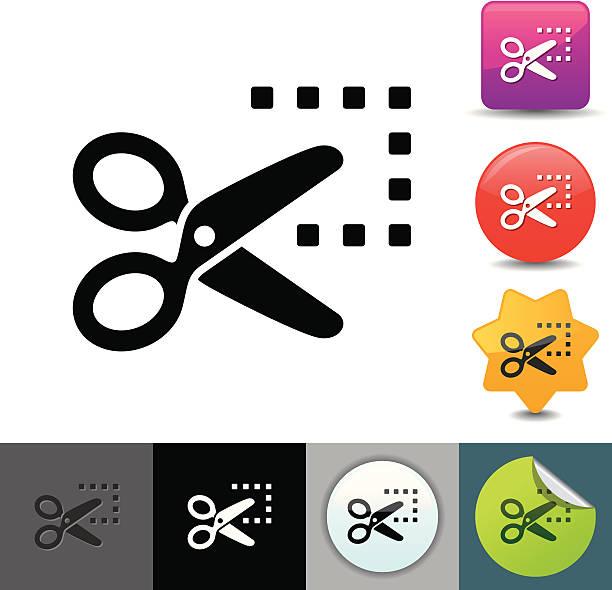Sale coupon icon | solicosi series vector art illustration