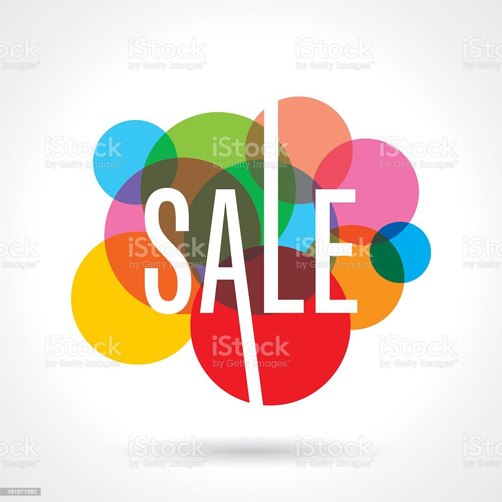 Sale design template vector vector art illustration