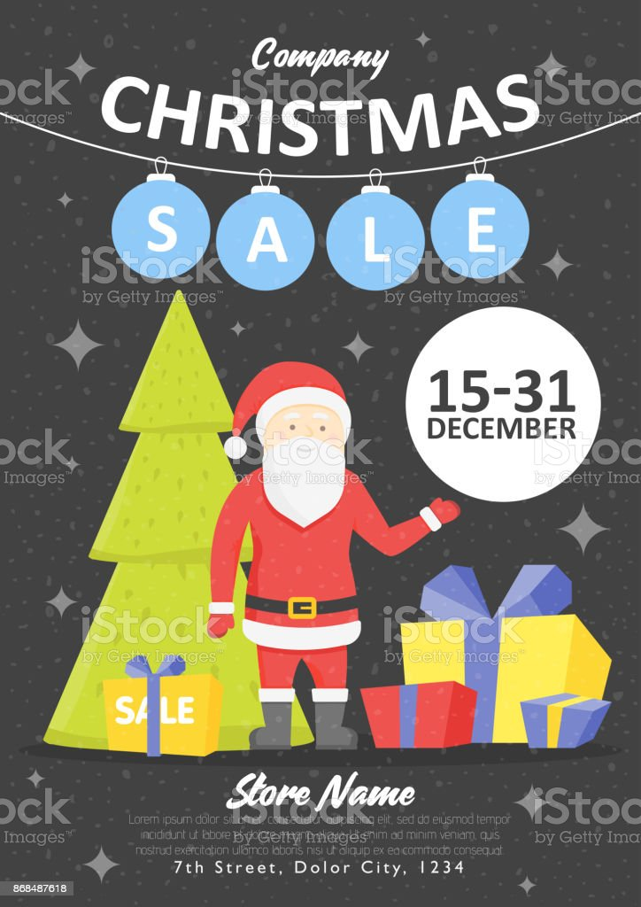 Sale Holiday Website Banner Templates Christmas And New Year