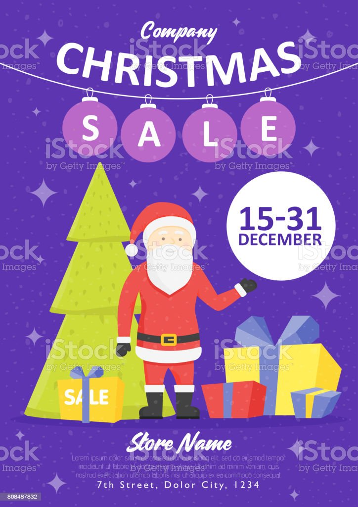 sale holiday website banner templates christmas and new year illustrations for social media banners