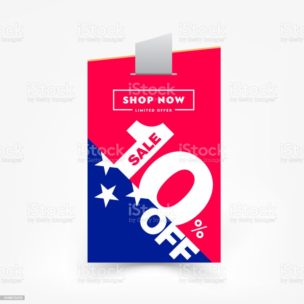 10 Off Sale Label Price Tag Discount Sticker Sale Special Offer