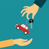 Sale or rental car