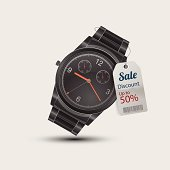 sale promotion with clock