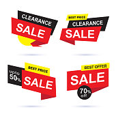 Special offer, big sale, discount, best price, Sale tags collection, Sticker, badge,  Vector Illustration