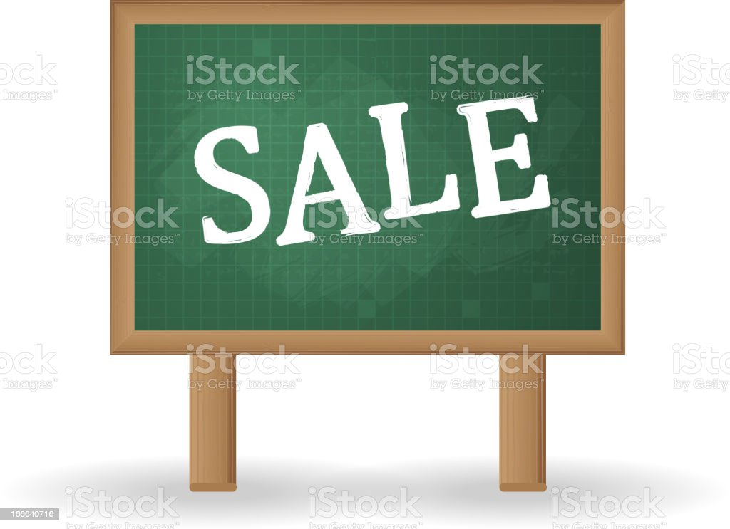 Sale Signboard royalty-free stock vector art