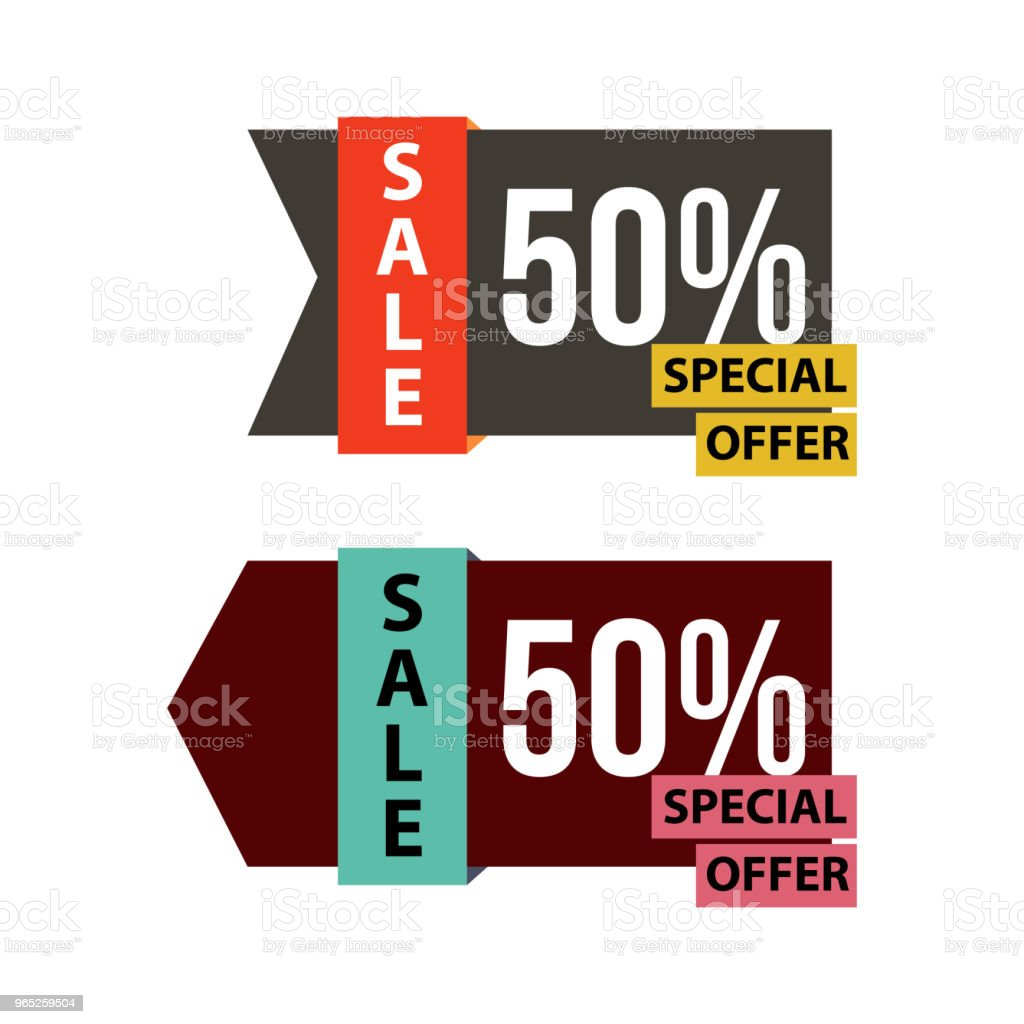 Sale Special Offer Vector Template Design royalty-free sale special offer vector template design stock vector art & more images of abstract