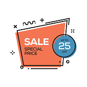 Sale Special Price Label