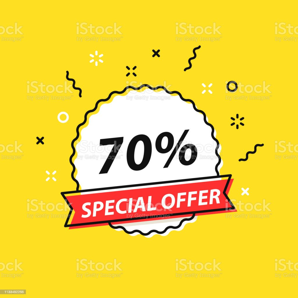 Sale Tag Special Offer Big Sale Discount Best Price Mega Sale Banner Shop Or Online Shopping Sticker Badge Coupon Store Vector Illustration Stock Illustration Download Image Now Istock