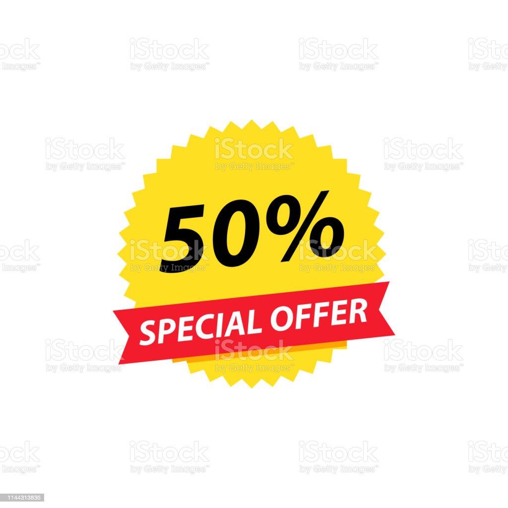 Sale tag. Special offer, big sale, discount, best price, mega sale...