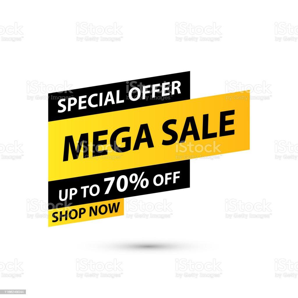 Sale Tag Special Offer Big Sale Discount Best Price Mega Sale Banner Shop Or Online Shopping Sticker Badge Coupon Store Vector Illustration Stock Illustration Download Image Now Istock