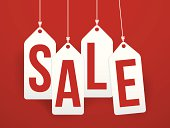 sale tags background