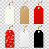 Sale Tags Collection. Vector Illustration EPS10. Contains transparency.