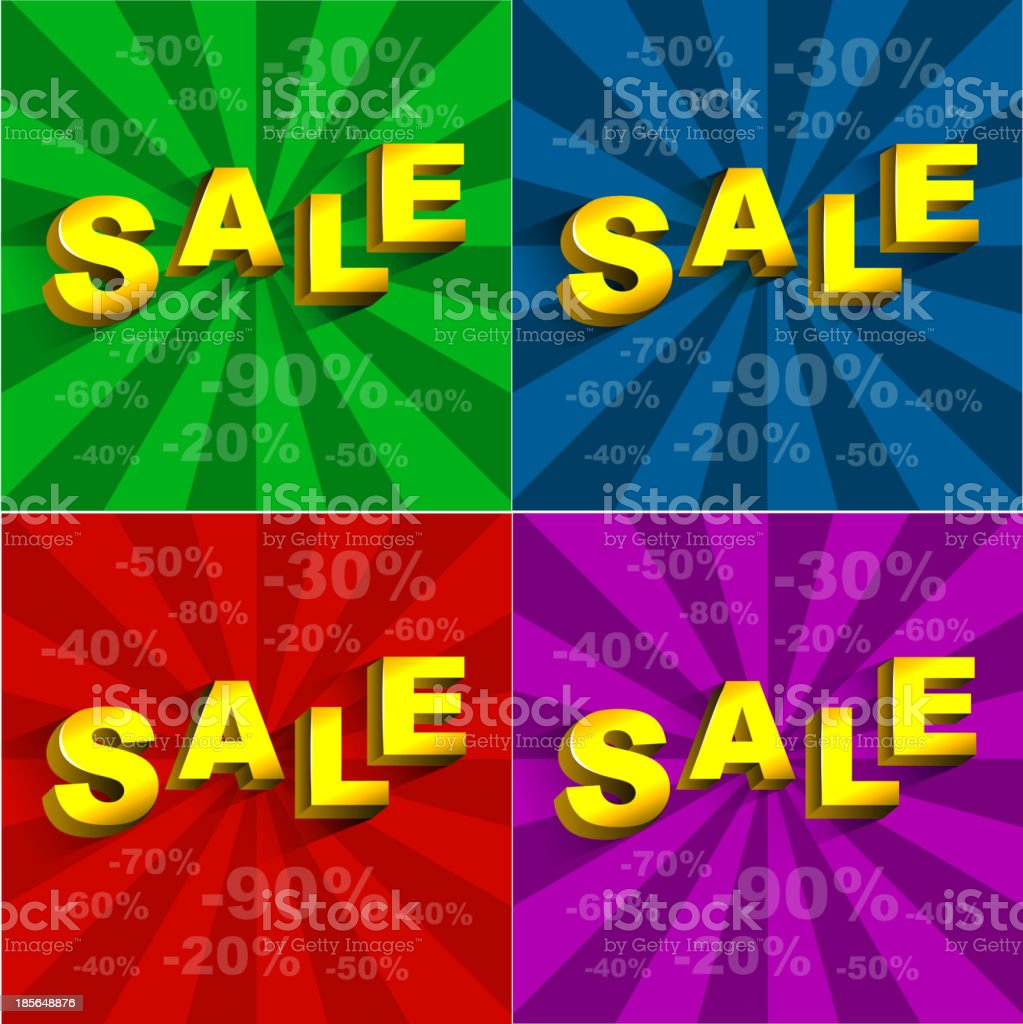 sale royalty-free stock vector art