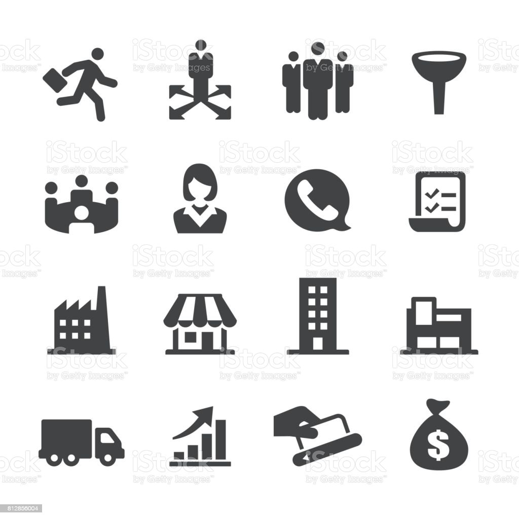 Sales Icons - Acme Series vector art illustration