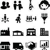 Sales Icons - Black Series