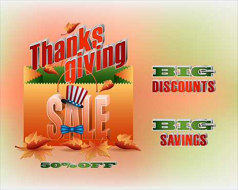 Sales of Thanksgiving day