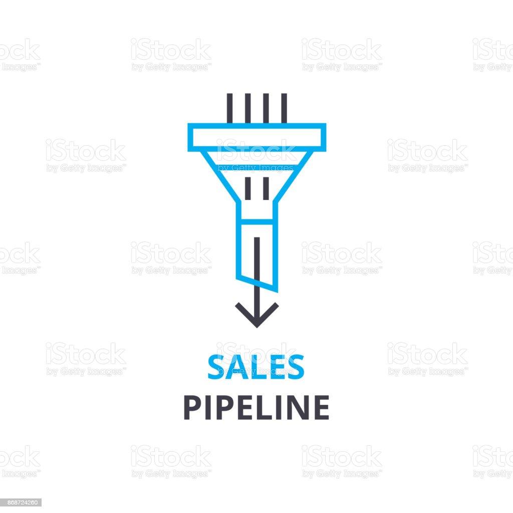 販売のパイプライン概念 アウト...