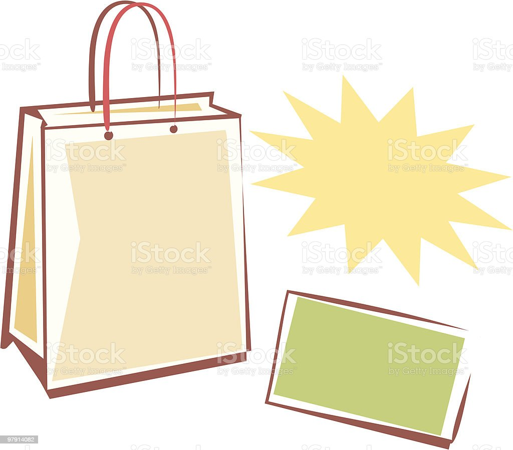Sales & Shopping royalty-free sales shopping stock vector art & more images of bag